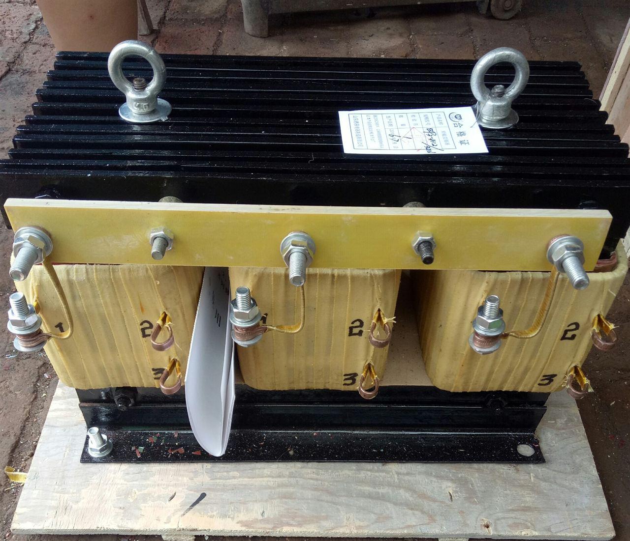 电机电阻箱接线实物图