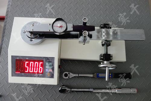 SGXJ扭矩扳手校准仪图片 (检定表盘扭矩扳手效果图)