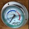 耐震压力表  不锈钢耐震压力表  轴向带边耐震压力表